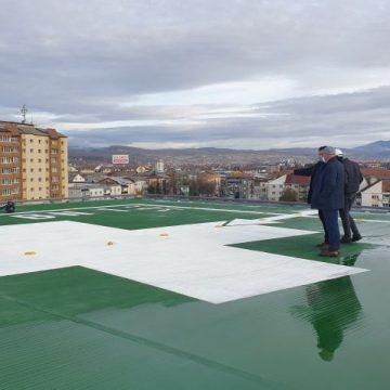 FOTO/VIDEO: Heliportul Spitalului Județean este aproape finalizat!