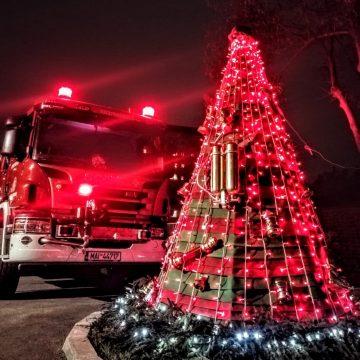 Crăciunul pompierilor: 80 de intervenții în zilele de sărbătoare