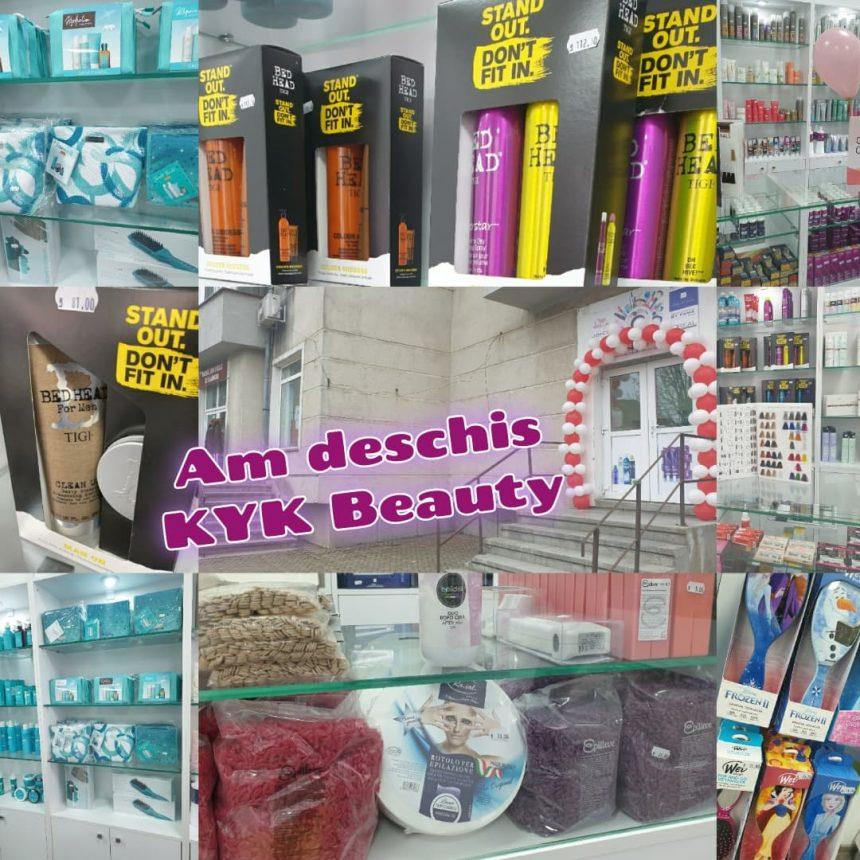 FOTO/VIDEO: S-a deschis KYK Beauty – primul magazin cu produse profesionale pentru păr și unghii din oraș