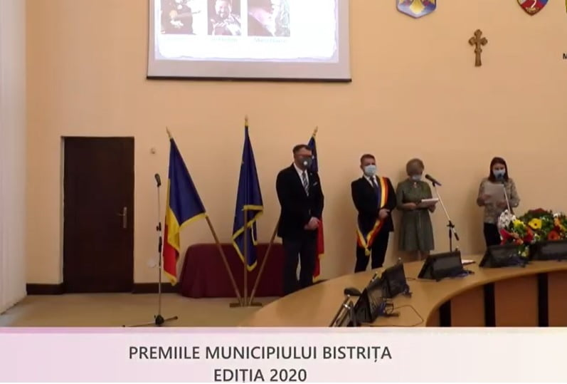 VIDEO: Premiile municipiului Bistrița, decernate într-o ceremonie specială