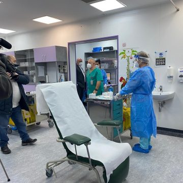 Se-nchide centrul de vaccinare de la spital! Lazany: E ciudat, dar așa s-a comunicat de la București!