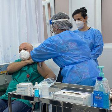 Asistentul șef de la UPU- prima persoană din Bistrița vaccinată anti-COVID