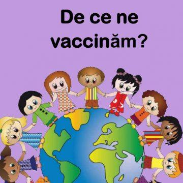 """""""De ce ne vaccinăm?"""" – Cartea pentru cei mici oferită de Ana Dragu, după experiența Covid19"""
