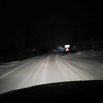 FOTO/VIDEO: ZĂPADĂ pe TOATE drumurile din județ! Circulați cu prudență!