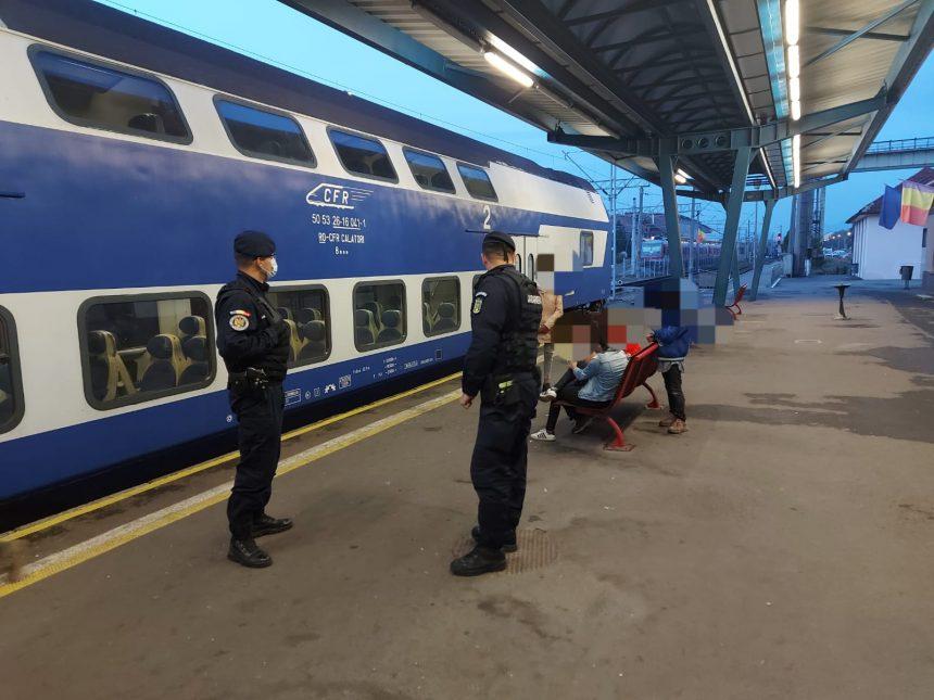 N-a respectat carantina: Bucureștean găsit în gara Bistrița Nord