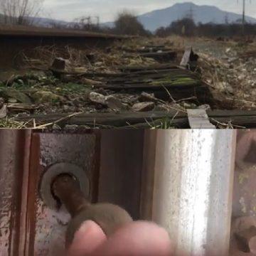 VIDEO: Siguranța înainte de toate?!? Nu pe calea ferată!
