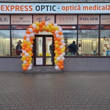 FOTO: S-a deschis al treilea magazin EXPRESS OPTIC din Bistrița! În blocul Lama, la parter