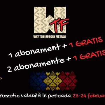 WTF Rock Festival 2021 – cea mai mare producție din industria spectacolelor în Bistrița-Năsăud. Promoție inedită  la abonamente, de Dragobete