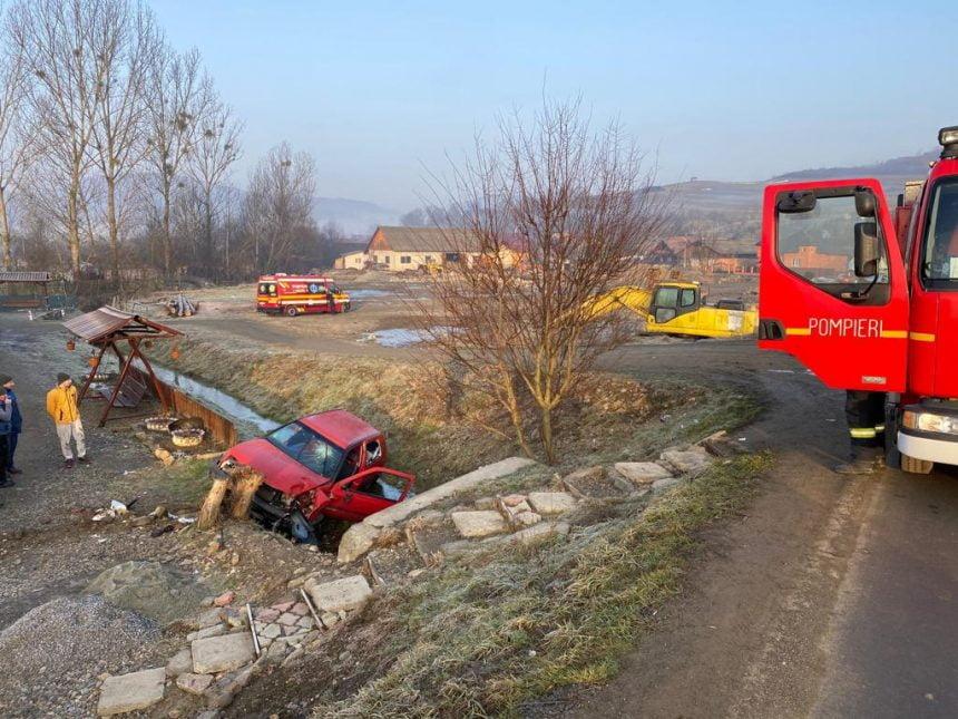 FOTO/VIDEO: Accident cu victimă încarcerată în Jelna