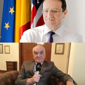 Klaus Iohannis a chemat de la post doi ambasadori cu origini bistrițene