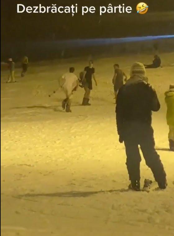 VIDEO: Pârtia Cocoș din Bistrița, în sfârșit pe TikTok…!