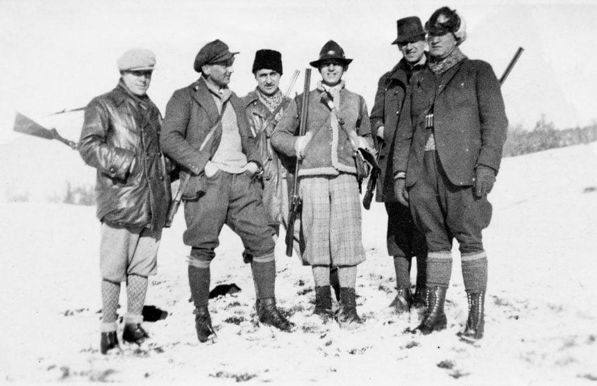 ALTE Vremuri… Imagini de colecție cu prefectul județului, la vânătoare