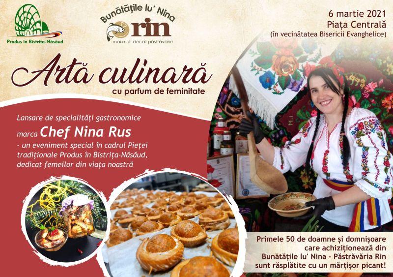 Produs în Bistrița-Năsăud: Eveniment special, dedicat zilei de 8 Martie, lângă Biserica Evanghelică