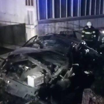 FOTO/VIDEO: GRAV accident la Salva – victimă încarcerată