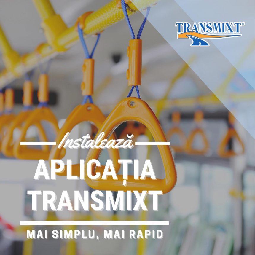 EXTRA: Prin aplicația Transmixt, disponibilă pe Google Play și AppStore, îți plătești biletul cu telefonul mobil! Alte avantaje