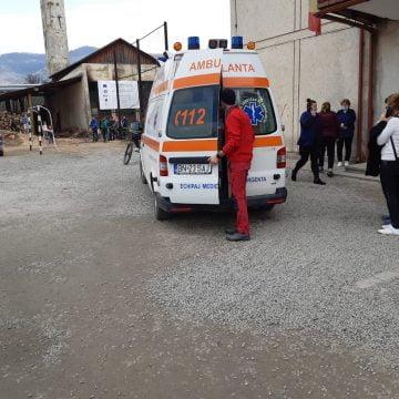 CARE e starea elevei accidentate ieri, la Sângeorz Băi