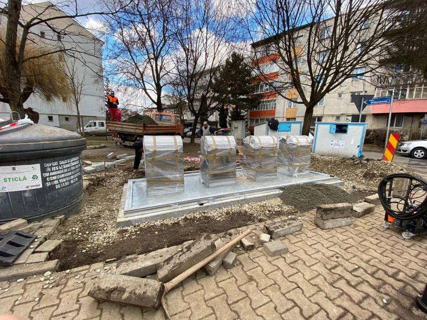 Primele pubele îngropate au ajuns la Bistrița!