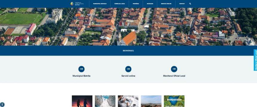 """Noul site al municipalității a adus servicii online în plus, dar a """"tăiat"""" din datele de contact ale funcționarilor"""