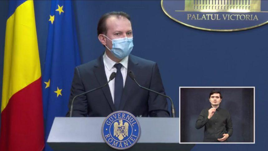 VIDEO – Florin Cîțu: De la 1 iunie vom face primul pas spre normalitate
