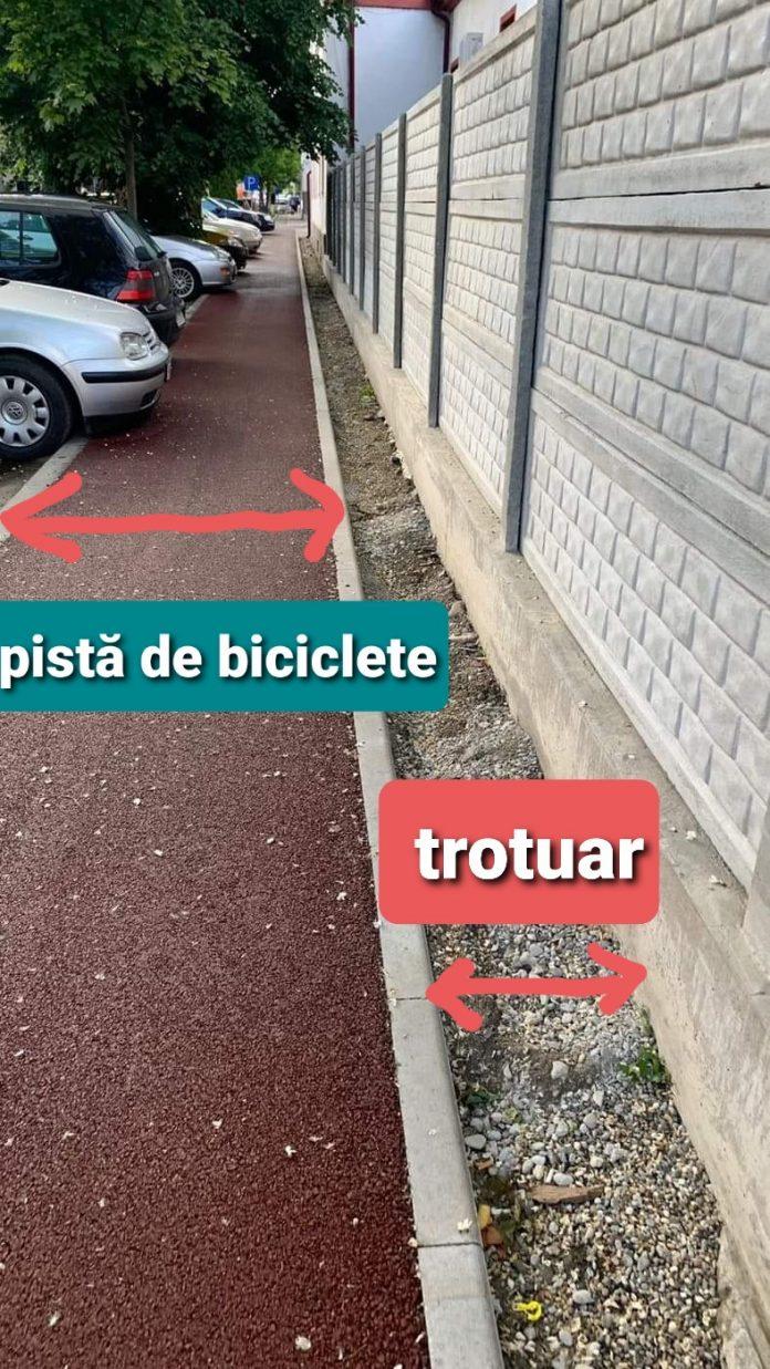 Pista de biciclete Bistrita