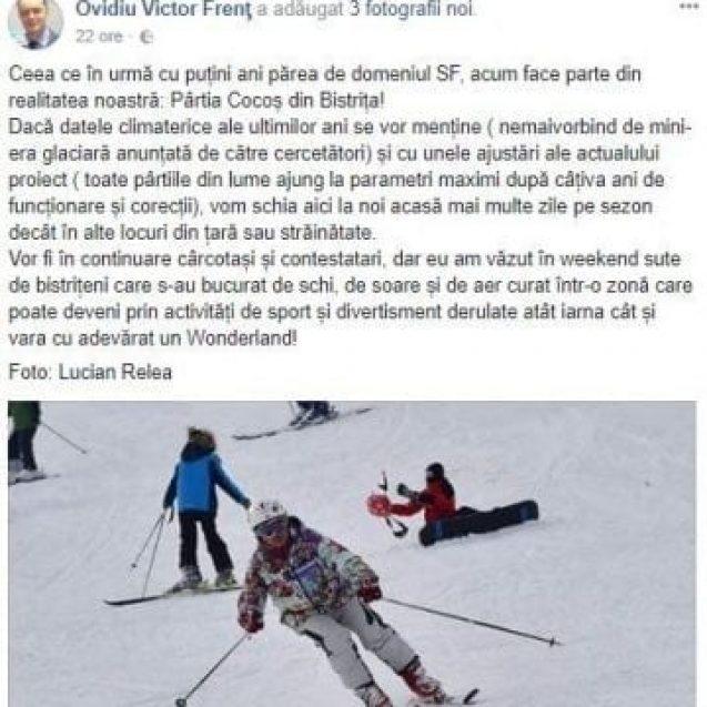 FACEBOOK POLICE: Stați că vine mini-era glaciară, și cu ea și zăpada în Wonderland! Zice prefectul, nu-i glumă!