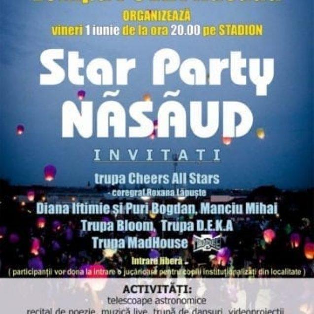 Primul star party de anul acesta are loc la Năsăud!