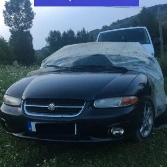 Plimbarea cu mașina furată îi poate duce direct la închisoare pe doi tineri din Zagra
