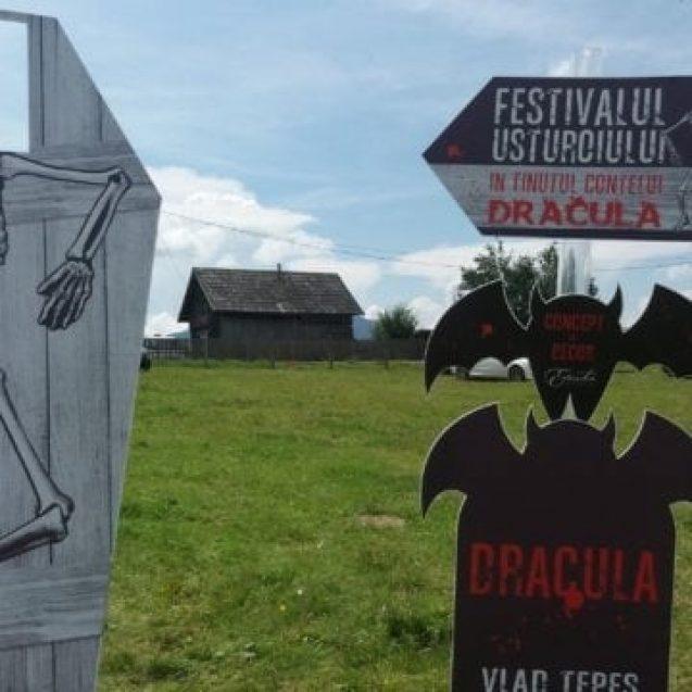 Sunteți cu toții invitați la Festivalul Usturoiului în Ținutul Contelui Dracula! ATRACȚIA zilei