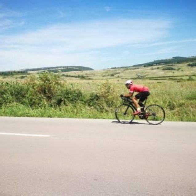 FOTO: Aventurile unui bistrițean ce a făcut turul țării, pe bicicletă – partea I