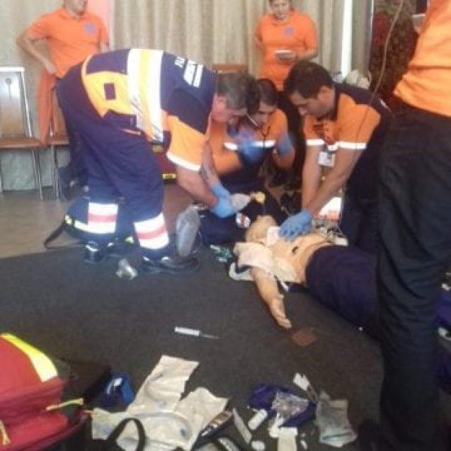 Felicitări! Angajații Serviciului de Ambulanță BN, locul II pe țară la resuscitarea victimelor