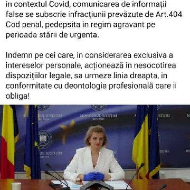 GRAV: Din poziția de secretar de stat la Justiție, Diana Morar ne amenință cu închisoarea
