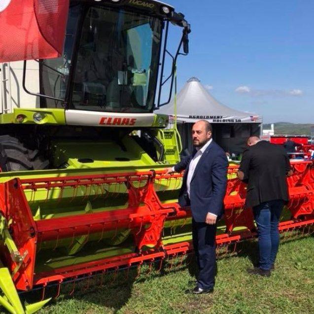 """Ionuț Simionca (PMP), la Expo Agraria: """"Trebuie să găsim soluții de  finanțare a agricultorilor!"""""""