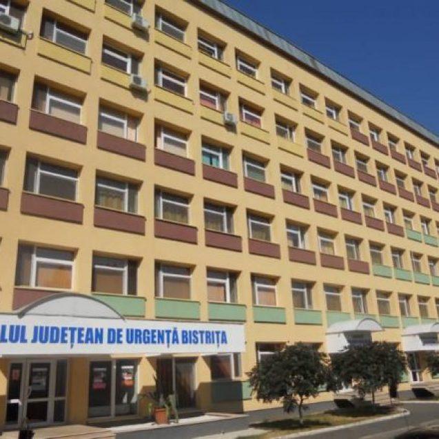 Trei angajați si Spitalului Județean de Urgență Bistrița, depistați pozitiv cu COVID 19