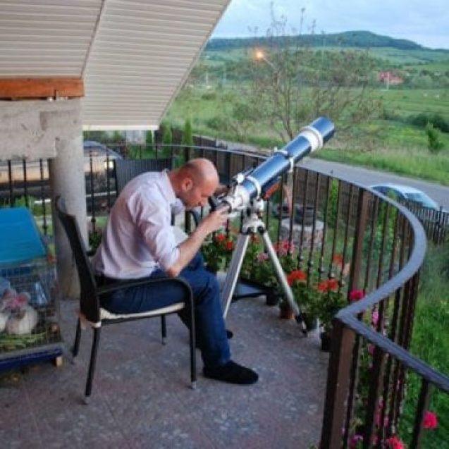 OAMENI din Bistrița-Năsăud: Gabi Urs, astronomul de serviciu al orașului…