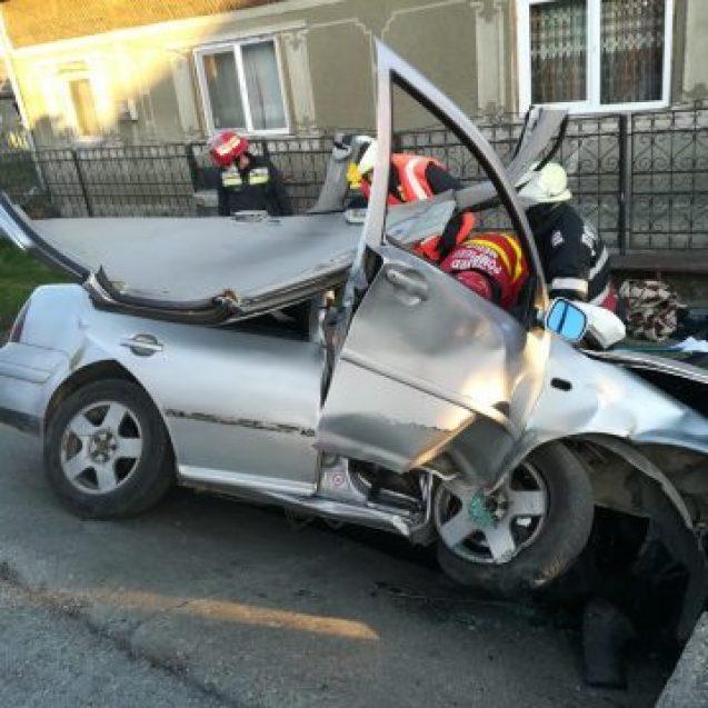 Tânărul de 21 de ani, din accidentul din Rusu Bârgăului, tot în stare gravă! CE au decis medicii: