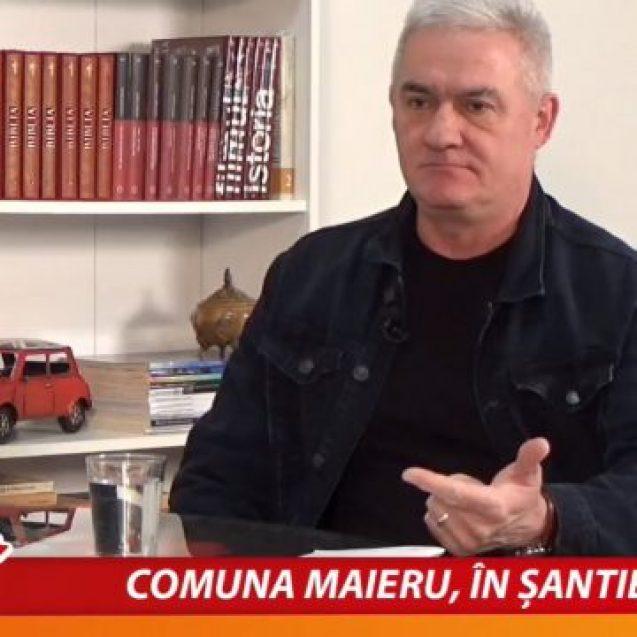 VIDEO – Vasile Borș, primarul din Maieru: Putem să depășim totul. Prin igienă, medicamentație și rugăciune…