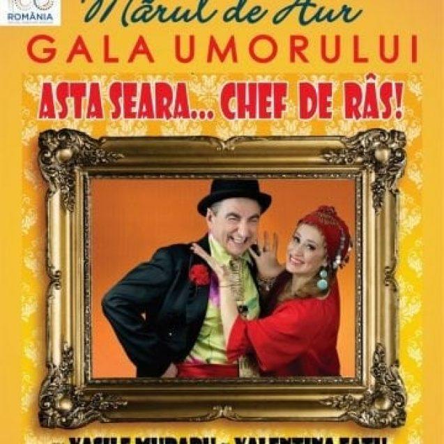 """BISTRIȚA: Mâine începe Festivalul de satiră și umor """"Mărul de aur"""""""