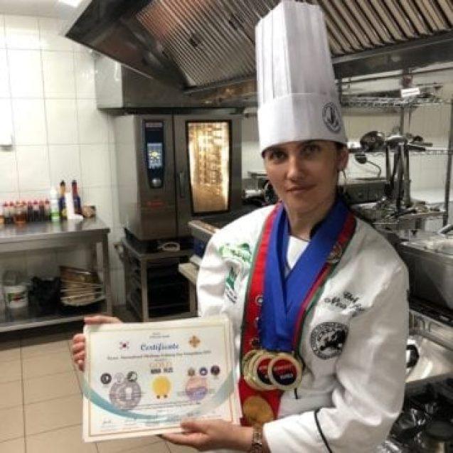Felicitări Chef Nina Rus! Preparatele bistrițencei au cucerit și coreenii!