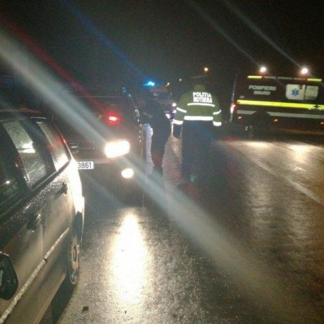 FOTO – Două femei au fost lovite de o mașină pe trecerea de pietoni, în Livezile