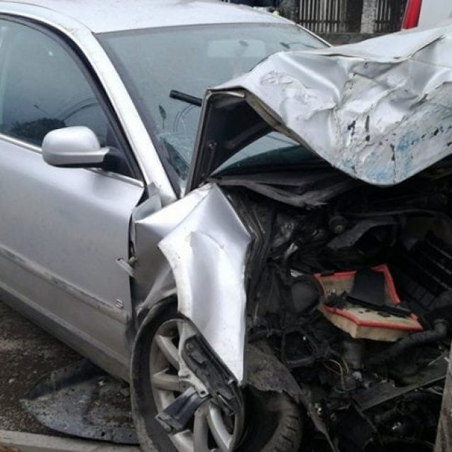 FOTO/VIDEO: Accident la fabrica de oțet