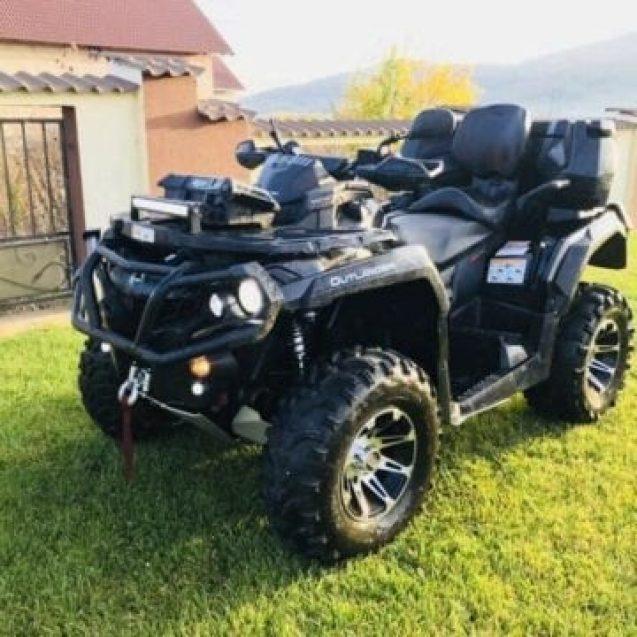 Oferă recompensă pentru cei care îl ajută să-şi găsească ATV-ul furat!