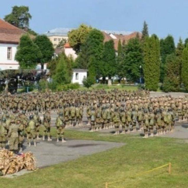 FOTO: Pe Dealu Cocoșului, ca-n Afganistan! Militarii bistrițeni se pregătesc de război!