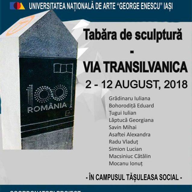 """10 tineri artiști transformă 100 de borne din """"Via Transilvanica"""" în adevărate opere de artă"""