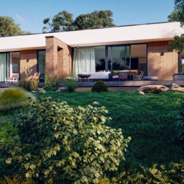 Class Construct prezintă 5 proiecte de casă inedite, moderne, cu spații generoase, visul oricărei familii care vrea…altceva