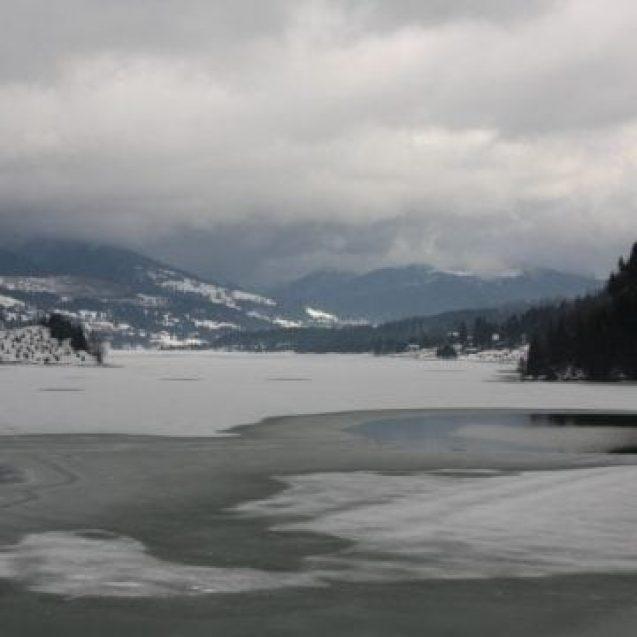 Iarna pe uliță în Bistrița-Năsăud? Nu prea! Străinii nu s-au prea înghesuit în județul nostru