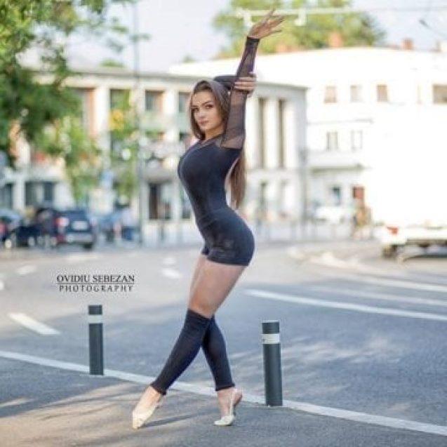 """Tânăra criticată de Mihaela Rădulescu la """"Românii au Talent"""", pe scenă cu unul dintre cei mai buni dansatori din lume"""