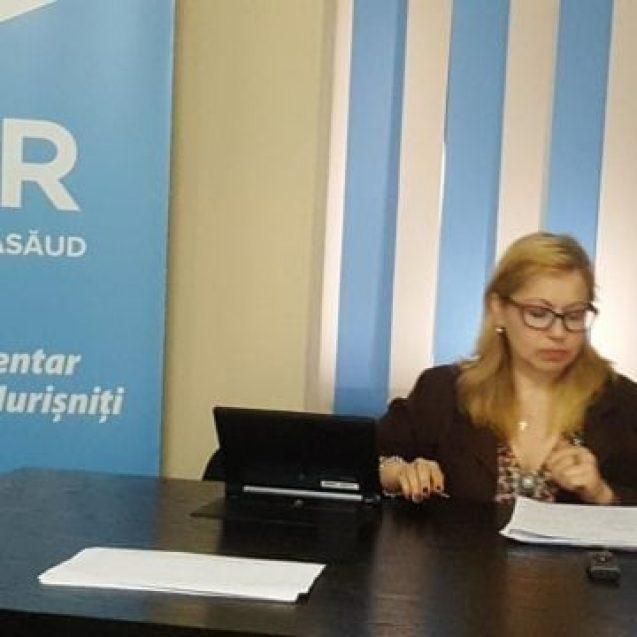 Cristina Iurișniți vrea să fie europarlamentar!