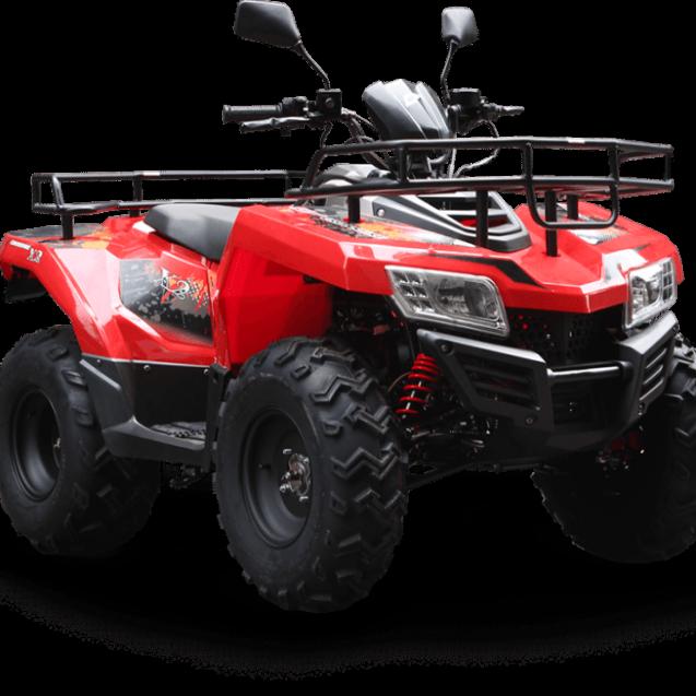 Bistrița: ATV condus de o domnișoară vs. stâlp de electricitate