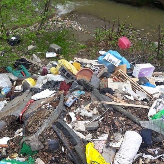 FOTO – Cum arată nesimțirea: Să arunci gunoaie într-un loc pe care alții îl curățaseră deja de două ori