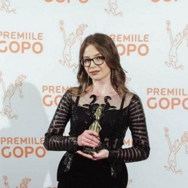 """Cea mai tânără câștigătoare a unui """"Oscar românesc"""": """"Deschiderea și înțelegerea mea i-au făcut să vadă un potențial în mine"""""""